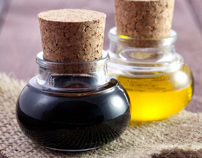 balsamic oil and vinegar